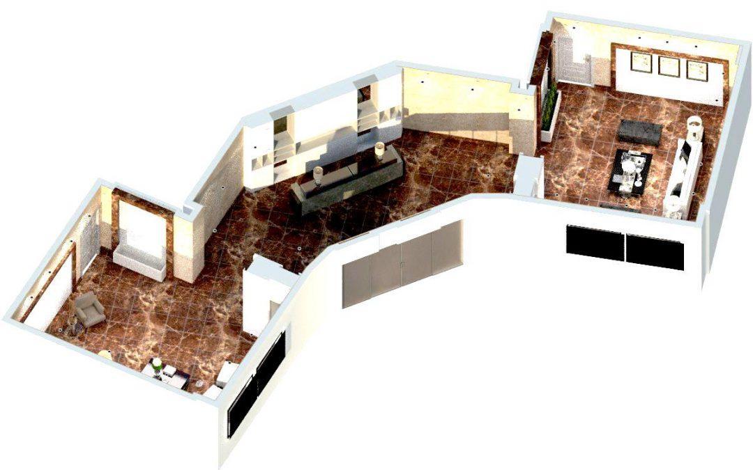 فراخوان مشارکت در طراحی دکوراسیون لابی برج پامچال ۶